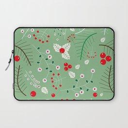 Mistletoe green Laptop Sleeve