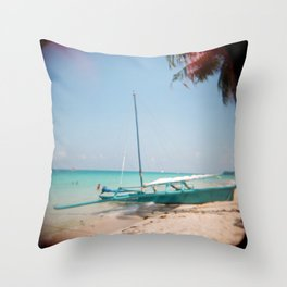 Boracay Island Throw Pillow