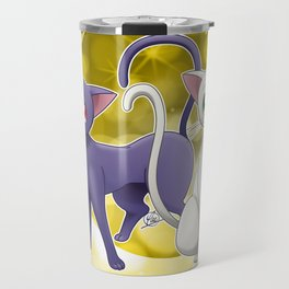 Luna & Artemis (Sailor Moon Crystal edit.) Travel Mug