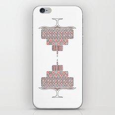 Patterned Cake iPhone & iPod Skin