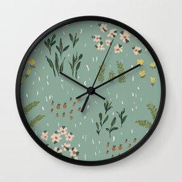 Little Fields Wall Clock