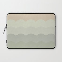 BROOKE BLUSH - Mid Century Modern Abstract Graphic Design Laptop Sleeve