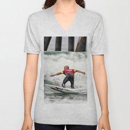 Kelly Slater Surfing Unisex V-Neck