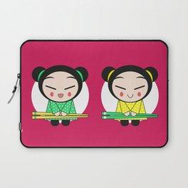 Funny Japanese Girls Laptop Sleeve