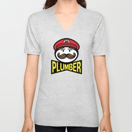 Plumber Potato Chips Unisex V-Neck