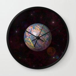 Gaiasphere Stripped Wall Clock