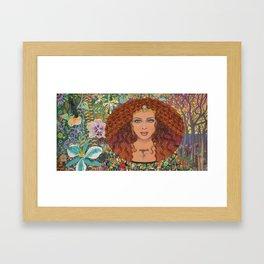 Leona Framed Art Print