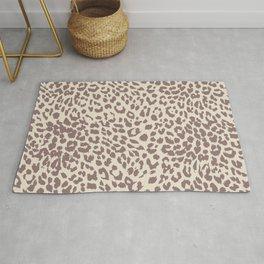Light Tan Leopard Rug