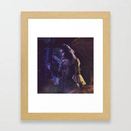 Lady harmonia Framed Art Print
