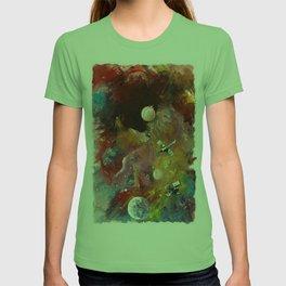 yeryüzünün dışında T-shirt