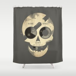 PieRates Shower Curtain