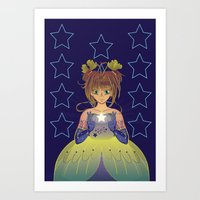 Card Captor Sakura: Stars Art Print
