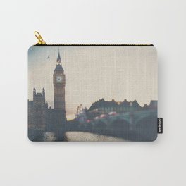 sunset over the city ... Carry-All Pouch