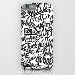 Mixed Emotions iPhone Case