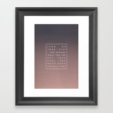 Awake My Soul III Framed Art Print