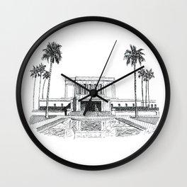 Mesa Arizona LDS Temple Wall Clock