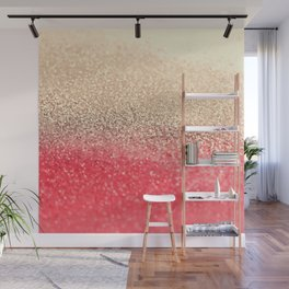 GOLD CORAL Wall Mural
