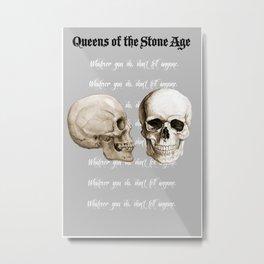QOTSA Metal Print