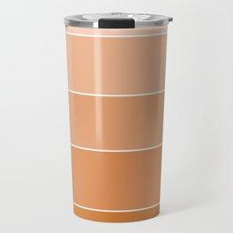 gradation in Orange Travel Mug