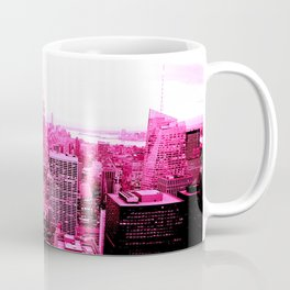 New York City Pink Coffee Mug