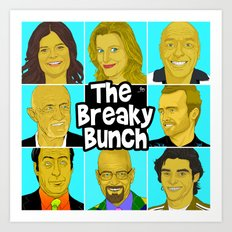 Breaky Bunch Art Print