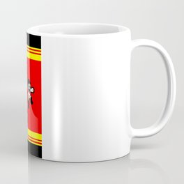 8-bit Andres 5 pose v2 Coffee Mug