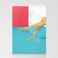 underwater Stationery Cards featuring Underwater by Fitacola