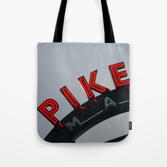 Pike Place Morning Tote Bag