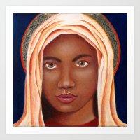 The Black Madonna Art Print