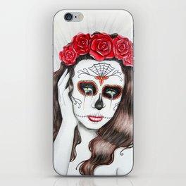 Lágrimas por mi amante muerto iPhone Skin