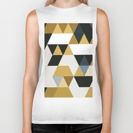 Golden Love Biker Tank