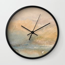 On the Mosell J. M. W. Turner Wall Clock