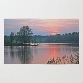 Willen Lake Sunset Rug