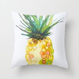 Pineapple Daiquiri Throw Pillow
