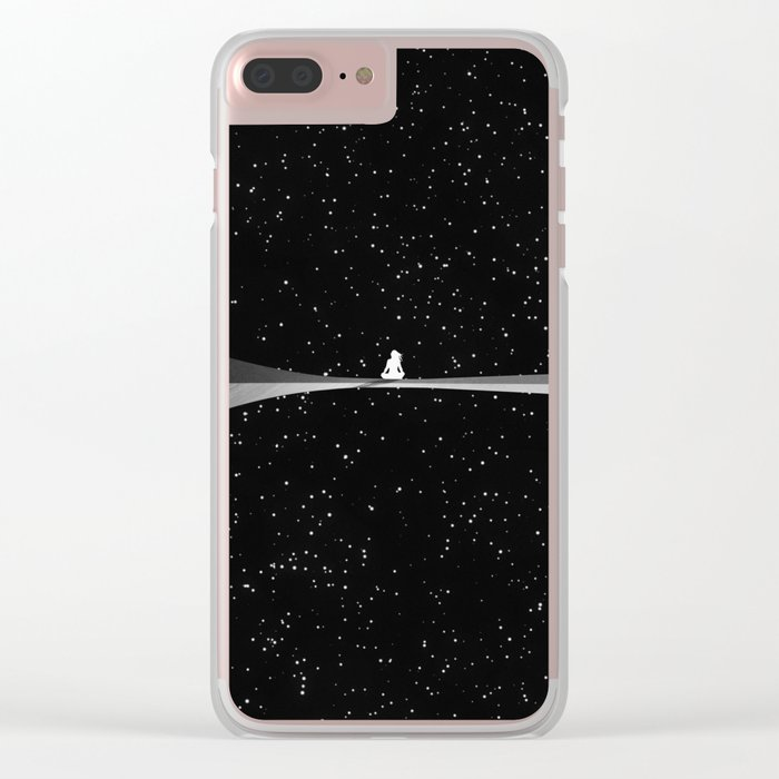 Emcal Clear iPhone Case