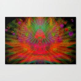 Love Radiation Meditation Canvas Print