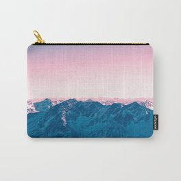 Pale Pink Sky Carry-All Pouch