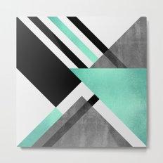 Foldings Metal Print