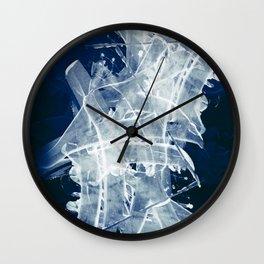 Navy Night Wall Clock