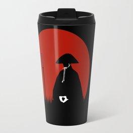 Meditating Samurai Warrior Travel Mug