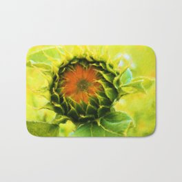 About to Bloom Bath Mat