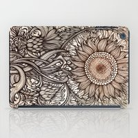 sunflower iPad Cases featuring Sunflower by Irina Vinnik