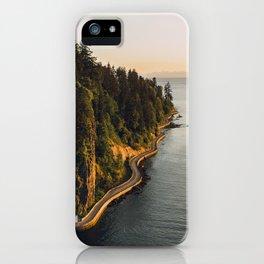 A Curvy Park - Vancouver, British Columbia, Canada iPhone Case