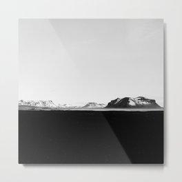 Iceland - Black Sands Metal Print