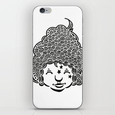 Smiling is good for you. iPhone Skin