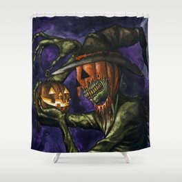 Hobnobbin' with a Goblin Shower Curtain