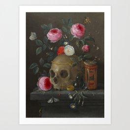 Jan van Kessel Vanitas Still Life Art Print