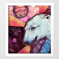 CosmoBear Art Print