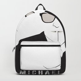 inspired by song .. michael caine Backpack