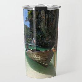Hong island boat Travel Mug
